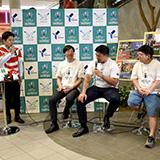 ラグビーワールドカップ2019(TM)」200日前イベントin海老名