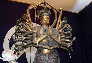 木造千手観音像は国指定の要分文化財
