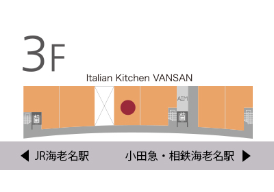 Italian Kitchen VANSAN地図